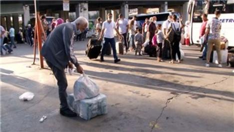 15 Temmuz Demokrasi Otogarı'nda bayram hareketliliği