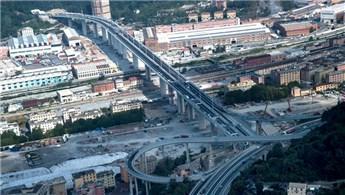 İtalya'da 43 kişiye mezar olan köprü yeniden açıldı