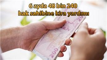 Çevre ve Şehircilik Bakanlığı'ndan 307 milyon TL kira yardımı