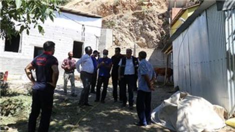 Malatya'da depremde hasar gören evlere girilmemesi istendi