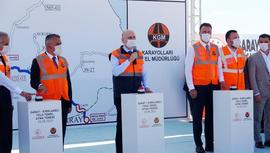 Bakan Karaismailoğlu, Saray-Kırklareli yolunun temelini attı