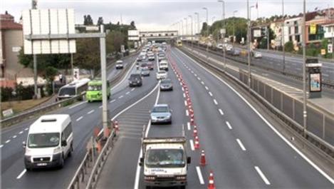 Haliç Köprüsü'ndeki yenileme çalışmasının 2. etabı başladı