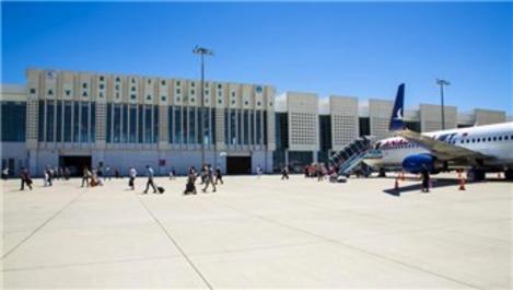 Koca Seyit Havalimanı'ndan bin 800 uçuş yapıldı