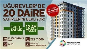 Kayseri Kocasinan Belediyesi'nden yatırım fırsatı