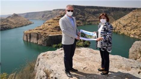 Rumkale'ye Türkiye'nin en büyük cam terası geliyor