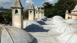 Mihrimah Sultan Külliyesi'nin bacalarındaki klimalar kaldırıldı