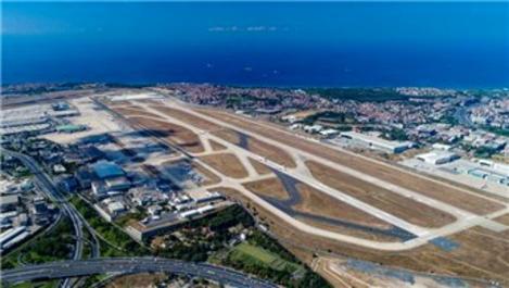 Seferler başlayınca park eden uçaklar azaldı
