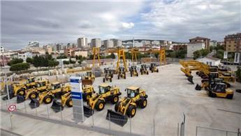 İkinci el iş makinaları showroom'u İstanbul Sancaktepe'de açıldı