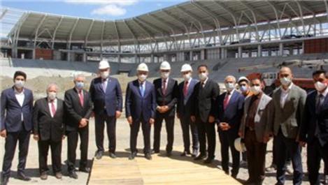 Yıldırım, Erzincan'da yapımı devam kamu yatırımlarını inceledi