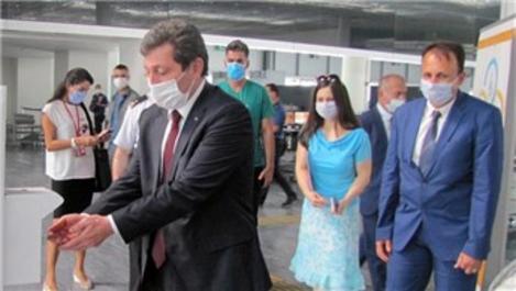 Vali Tavlı'dan havalimanlarında Covid-19 denetimi