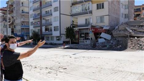 Evleri hasar gören vatandaşlar destek bekliyor