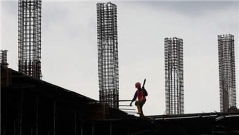 İstihdam endeksi inşaat sektöründe yüzde 9,0 azaldı