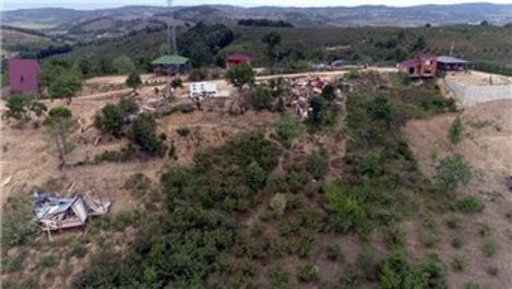 Şile'deki kaçak yapıların yıkılmasına ilişkin açıklama!