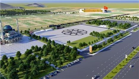 Erzurum'a 73 bin metrekarelik miting alanı müjdesi!