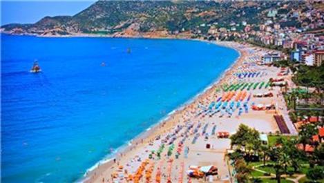 Antalya'ya gelen turist sayısı 1 milyonu aştı