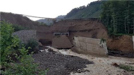 Ulaştırma Bakanlığı, selden zarar gören yolları yeniliyor