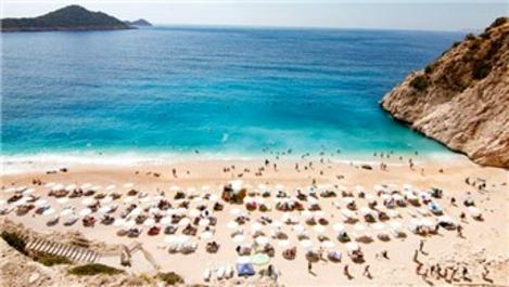 Temmuzda turist sayısı 4 kat arttı