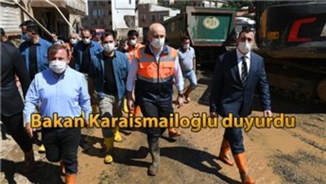 Giresun'daki sel mağdurları fatura ödenmeyecek