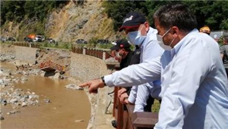 Bakan Soylu sel bölgesindeki incelemelerini sürdürüyor