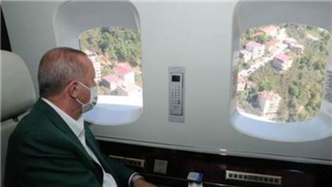 Cumhurbaşkanı Erdoğan, afet bölgesi Giresun'da!
