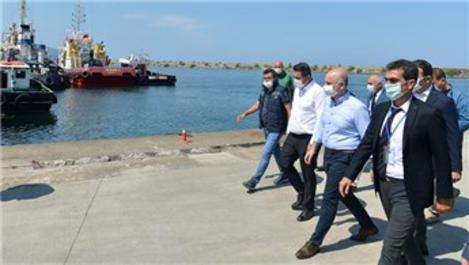 Bakan Karaismailoğlu, Giresun Limanı'nı inceledi