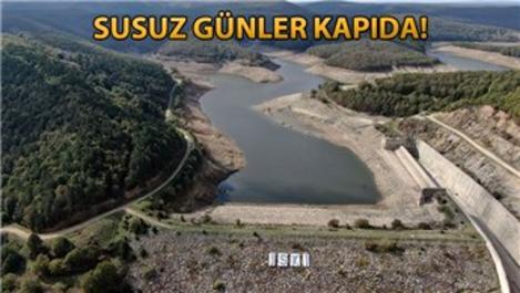İstanbul barajlarının yarısından fazlası boşaldı!