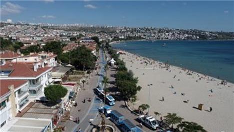 Büyükçekmece sahili, Cannes ve Nice olma yolunda!