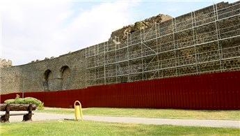 Diyarbakır'ın tarihi surlarında restorasyon başladı
