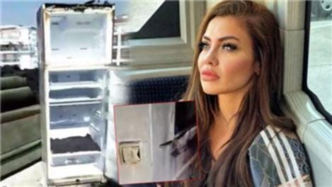 Şarkıcı Lara'nın evinde yangın çıktı!