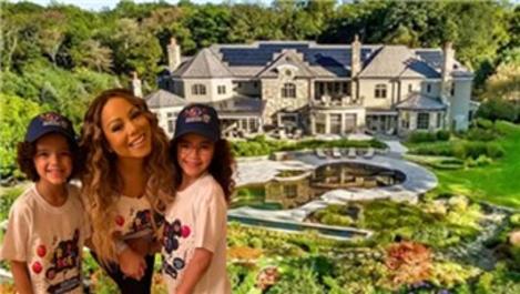 Mariah Carey, milyon dolarlık malikanede karantinaya girdi