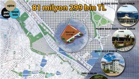 Tuzla Belediyesi'nden satılık rezerv yapı alanı!
