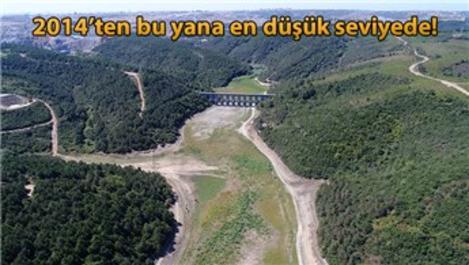 İstanbul'un barajlarının doluluk oranı yüzde 45.85!