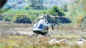 Ünlüler Mandarin Otel'den 25 bin TL'ye helikopter kiralayor