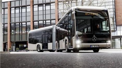 Mercedes-Benz'in elektrikli otobüslerinde Türkiye imzası!