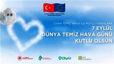 7 Eylül 'Temiz Hava Günü' Türkiye'de ilk kez kutlandı
