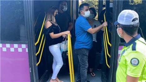 İstanbul'da 'ayakta yolcu' denetimi sıklaştı