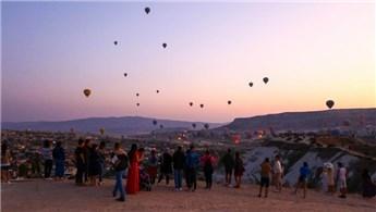 Kapadokya bölgesine Ağustos ayında 158 bin 800 turist geldi