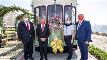 İzmir'de nostaljik tramvay seferlerine başladı!