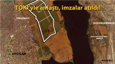 Emlak Konut'tan, Kanal İstanbul manzaralı arsaya 1.4 milyar TL!