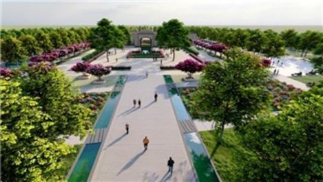 Eyyübiye'ye bölgenin en büyük Millet Bahçesi yapılacak