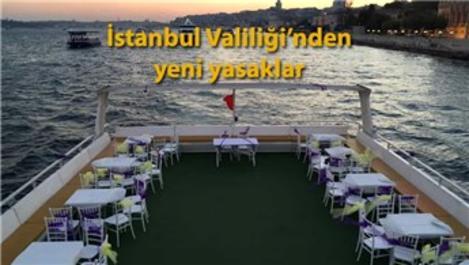 İstanbul'da deniz araçlarında düğün yapmak yasaklandı