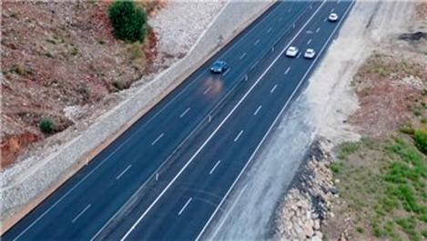 Kemer - Finike bölünmüş yolu 2022'de hizmete girecek