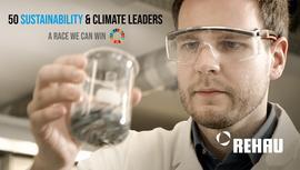 Rehau'ya iklim liderliği alanında büyük onur!