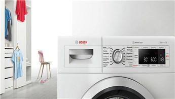 Bosch'tan leke avcısı Active Oxygen çamaşır makinesi!