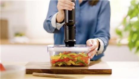 Bosch vakumlu blender makinesi ile gıdalar hep taze!