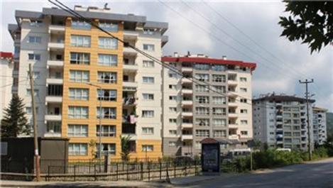 Giresun'da konut satışları yüzde 12 azaldı