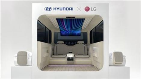 LG ve Hyundai, elektrikli araçlara ev konforu getiriyor