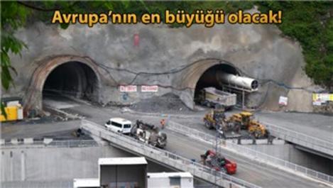 Zigana Tüneli'nin yüzde 74'ü tamamlandı