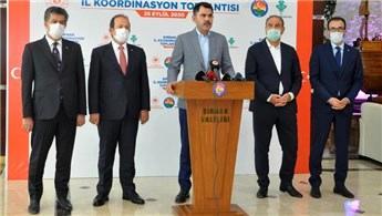 Bakan Kurum Şırnak'ta il değerlendirme toplantısına katıldı