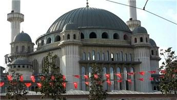 Taksim Camisi'nin yüzde 80'i tamamlandı